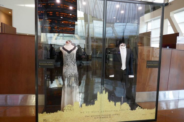Downton Abbey film costume exhibit