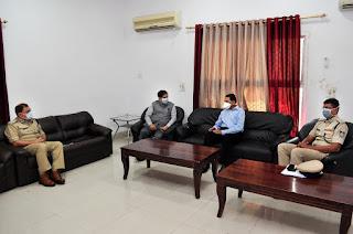 विधानसभा उप चुनाव हेतु नियुक्त विशेष प्रेक्षक श्री कान्तिदास ने सर्किट हाऊस में बैठक ली