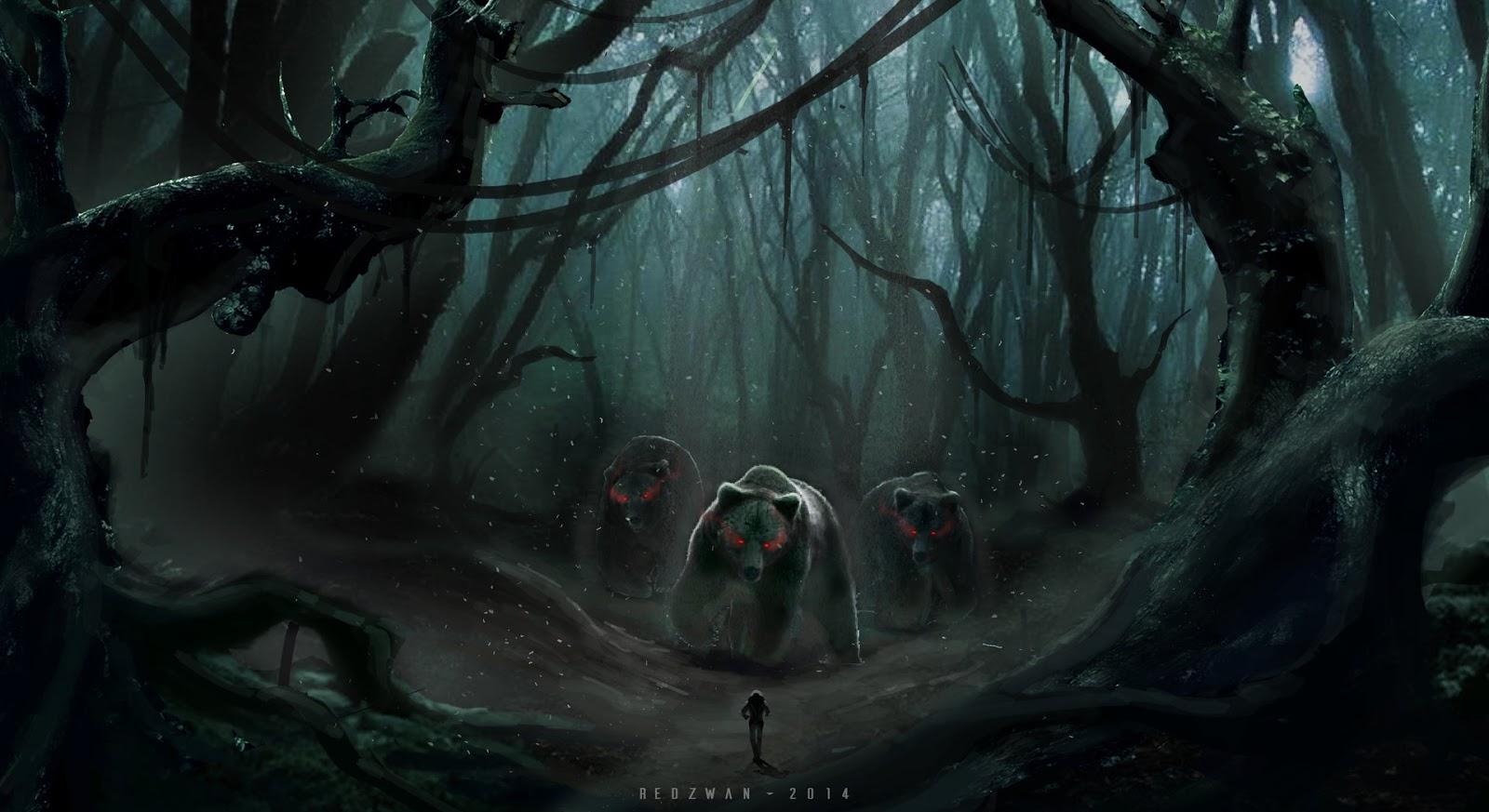 Sociolatte: Dark Forest by Redzwan Hamid