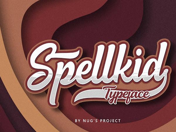 Spellkid Bold Script Font Free Download