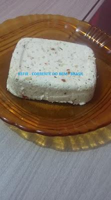 QUEIJO DE KEFIR DE LEITE