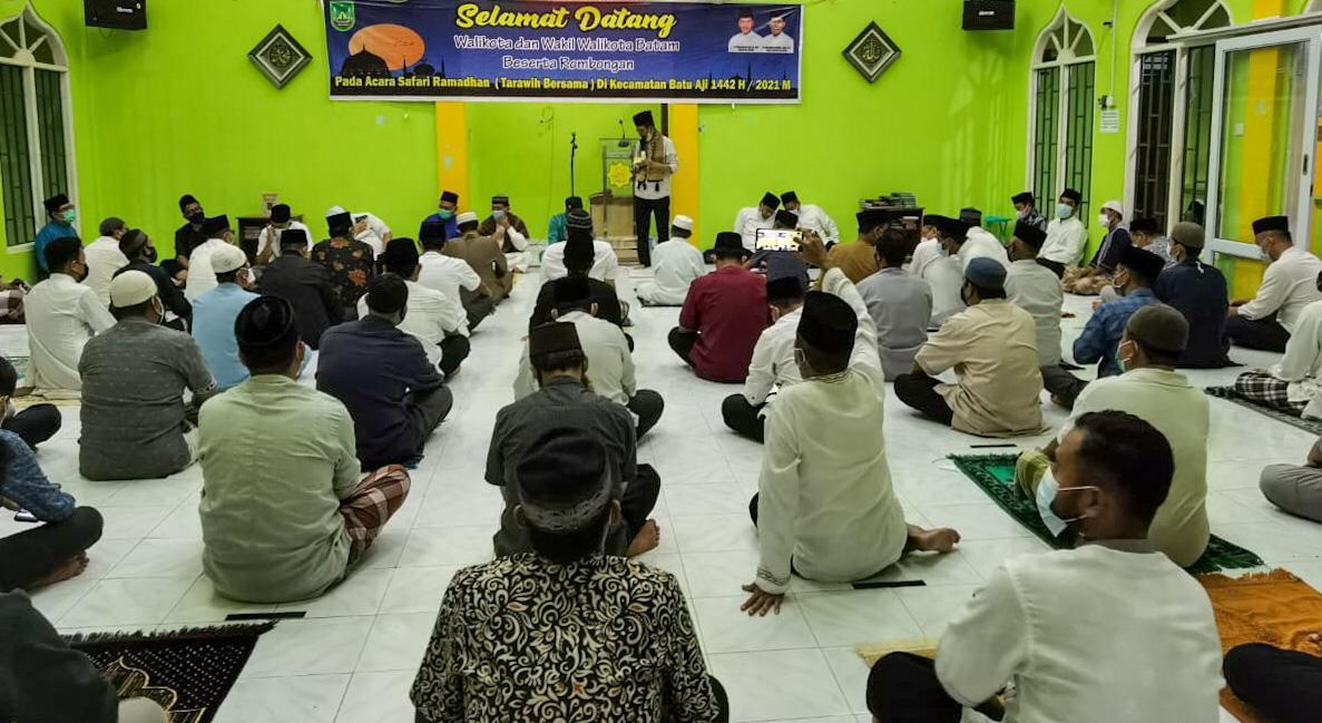 Safari Ramadhan di Masjid Sunnatul Rosul, Ini Pesan Amsakar