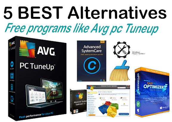 5 BEST Alternatives free programs like avg pc tuneup