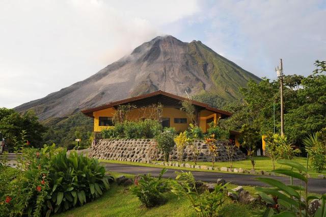 Donde alojarse en el volcán Arenal