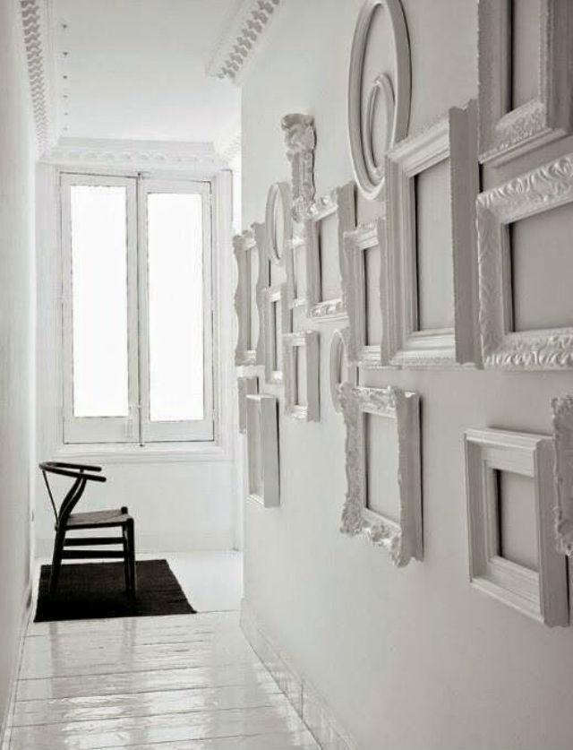 Una Pizca de Hogar: Decorar con marcos ¡Vacíos! 10 formas originales ...