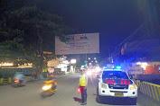 Unit Turjawali Satlantas Polres Bone Rutin Lakukan Blue Light Patrol