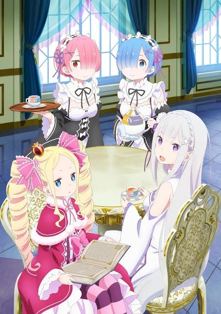 Autor de Re:Zero estima que Anime terá oito temporadas