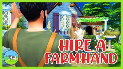 mod hire a farmhand los sims 4