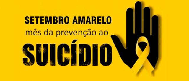Saúde Mental│Setembro Amarelo- Prevenção ao Suicídio