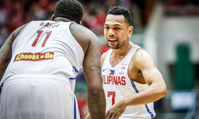 List of Leading scorers Gilas Pilipinas vs Chinese Taipei 2019 FIBA World Cup Qualifiers Asia