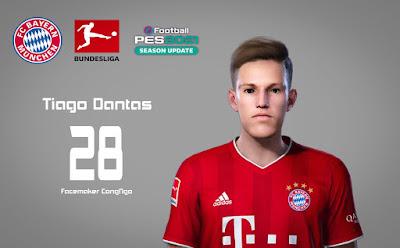 PES 2021 Faces Tiago Dantas by CongNgo
