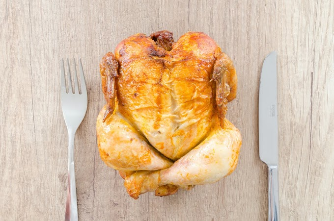 How i Lost my Left Eye Because of Chicken Meat