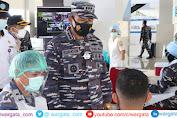 Lanal Mataram Wadahi Kebutuhan Vaksin Dosis Kedua di Pelabuhan Gilimas Lembar