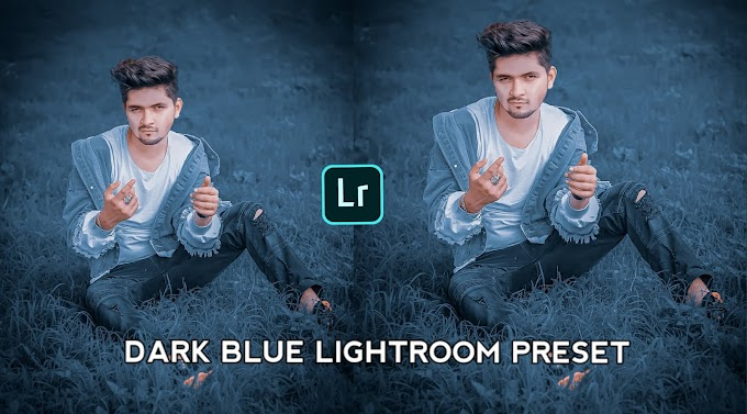 Dark Blue Preset Download For Lightroom Mobile