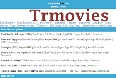 Trmovies 2020- Trmovies Latest HD Bollywood Movies Download