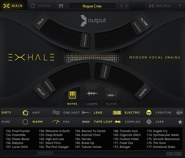 Interface Library Output - Exhale (Kontakt)