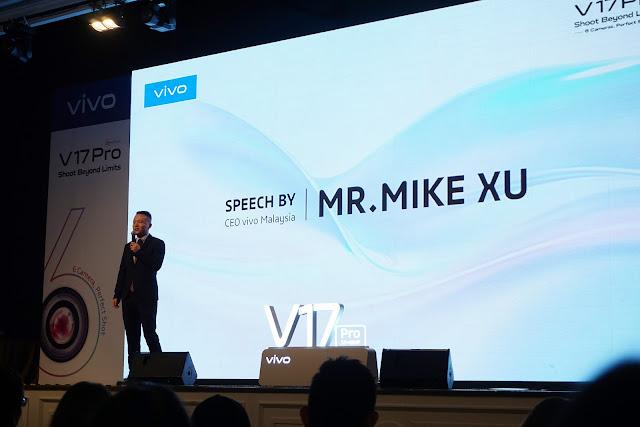 Wow!! Vivo V17 Pro Didatangkan Dengan 6 Kamera