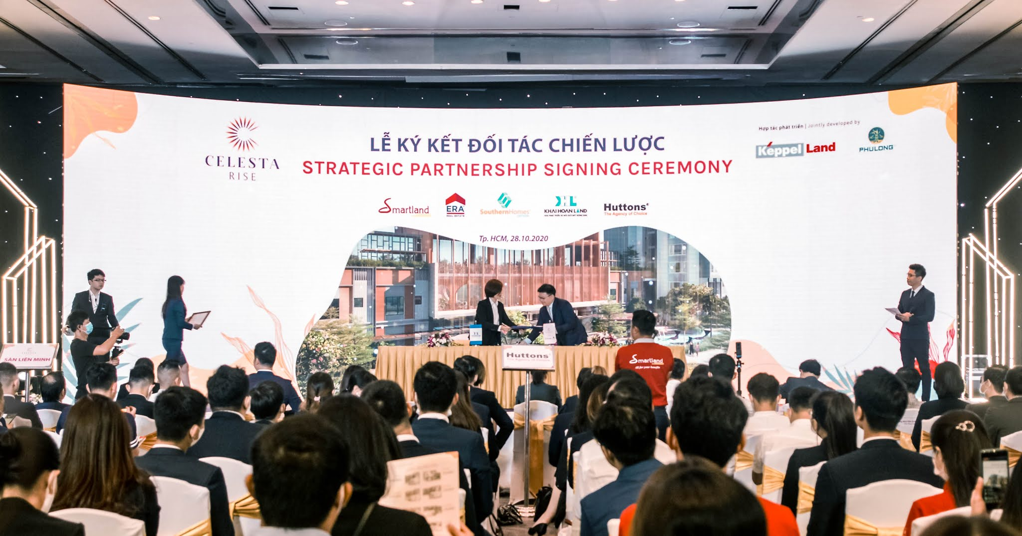 Lễ ký kết hợp tác chiến lược dự án Celesta Rise