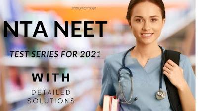 NTA NEET 2021 TEST SERIES WITH DETAILED SOL[PDF]