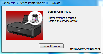 Cara Perbaiki Printer Canon Blinking Berkedip Dengan Mudah