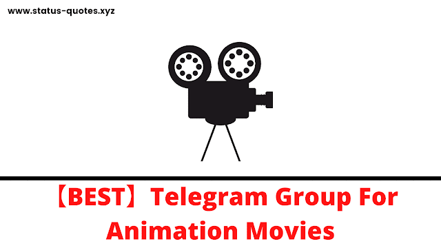 【BEST】Telegram Group For Animation Movies