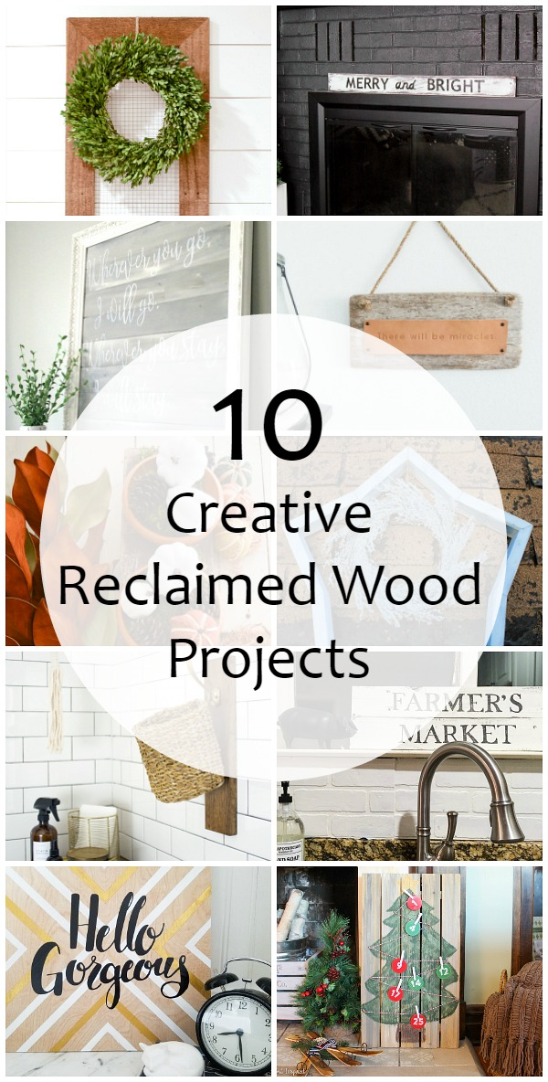 Reclaimed Wood Farmhouse Sign Monthly Diy Challenge The