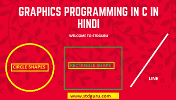 Graphics programming in c in Hindi