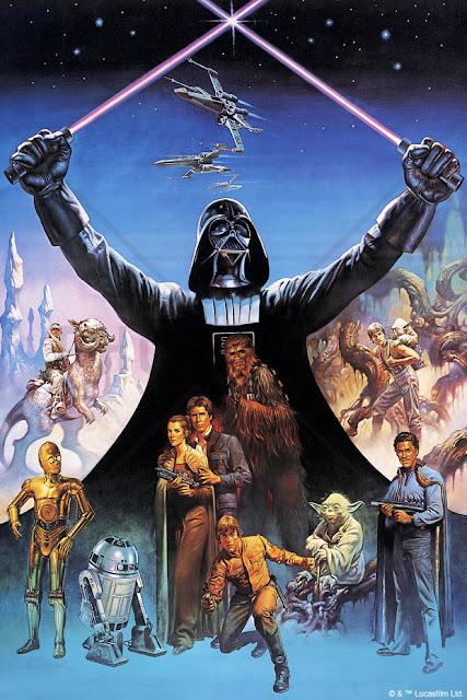 Star Wars tapet Darth vader