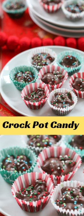 Crock Pot Candy #christmas #cookies