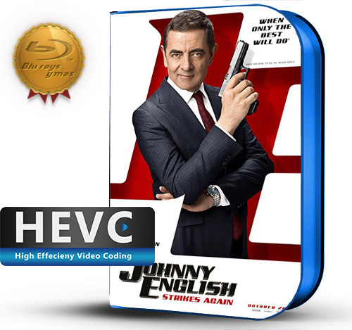 Johnny English Strikes Again (2018) 1080P HEVC-8Bits BDRip Latino/Ingles (Subt.Esp)(Comedia)