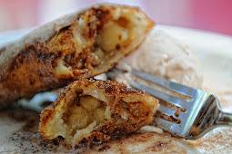 Apple Pie Enchiladas #desserts #cakerecipe
