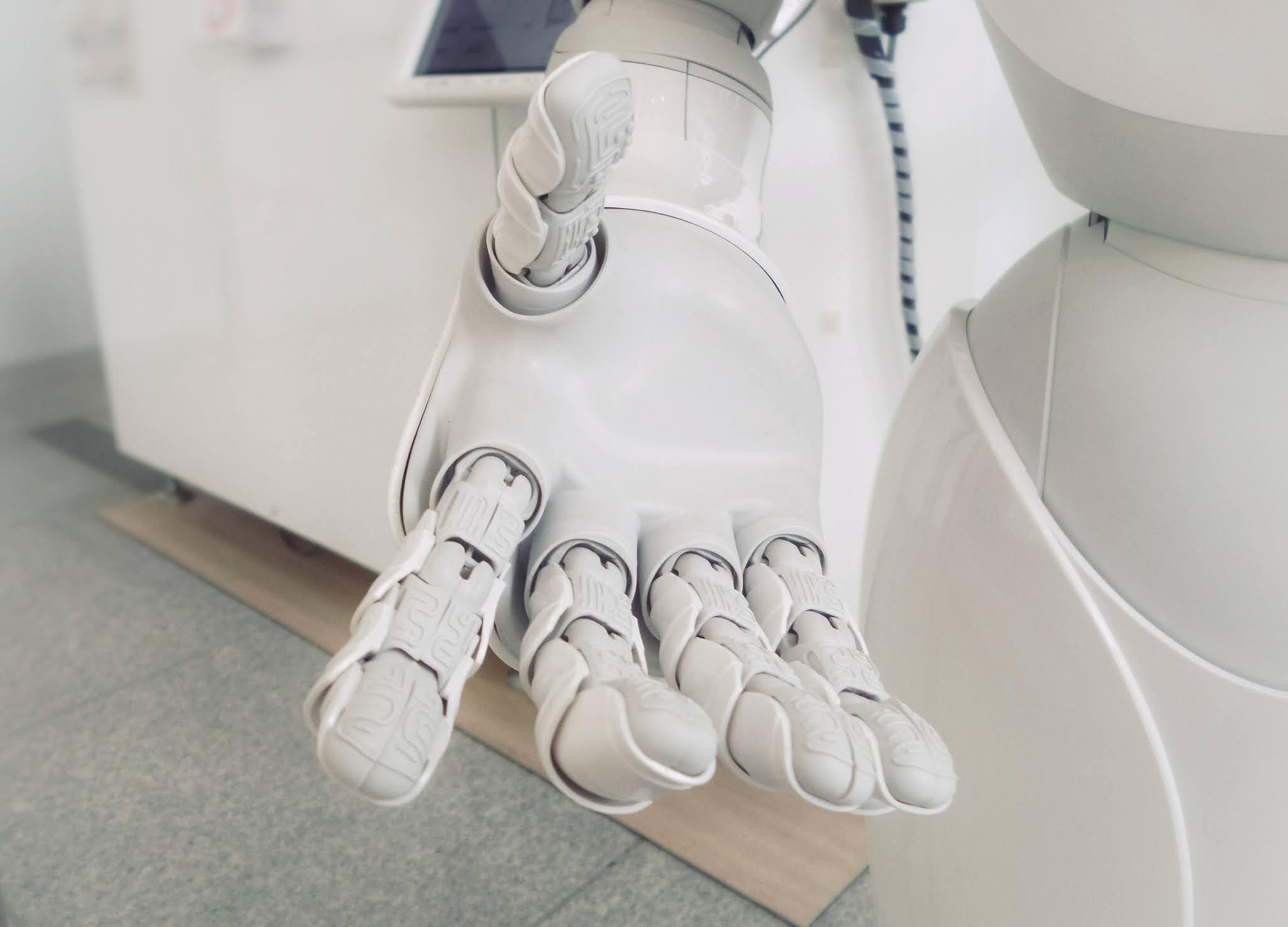 La ayuda del robot