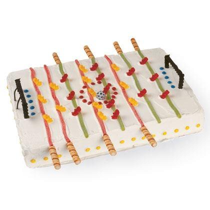 Foosball Fun Cake Recipe