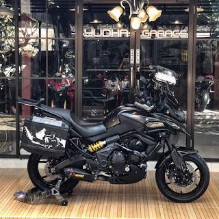 FS: kawasaki Versys 650cc Tahun 2013 ABS version, FULL PAPER, STNK, BPKB, ATPM Bali (DK)