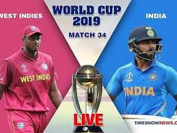 IND vs WI 2019 World Cup