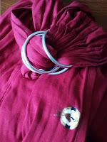 sling du barbu colimaçon portage 4 anneaux