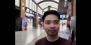 Hasil Kamera Depan Samsung Galaxy A10