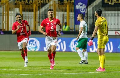 ملخص واهداف مباراة الاهلي والمصري البورسعيدي (2-1) الدوري المصري