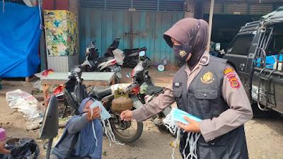 Tim 1 Srikandi Squad-01 Polres Merangin Patroli Sambang Masyarakat