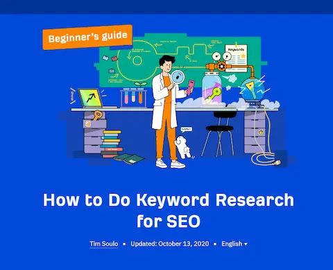 Keyword Research Guide for bloggers, Vlogers