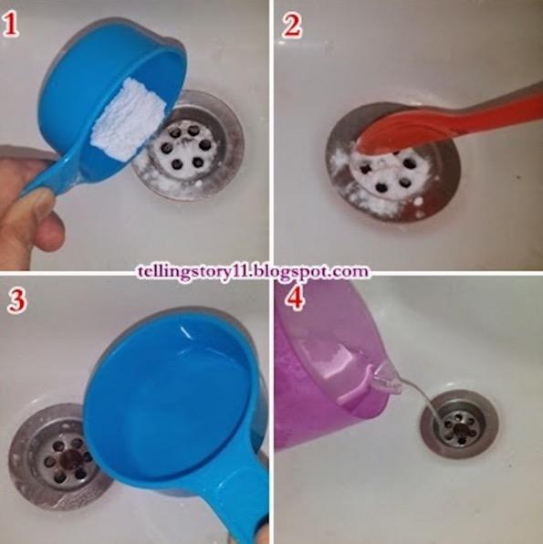 Cara Penyelesaian Sinki Tersumbat