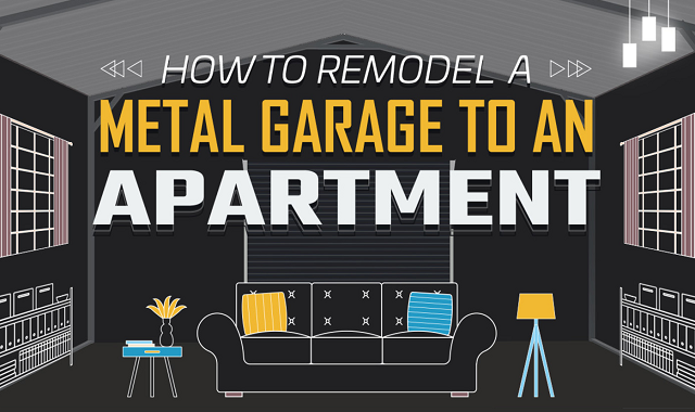 Turning a metal garage into an apartment: A guide