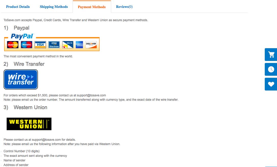 tosave.com website review