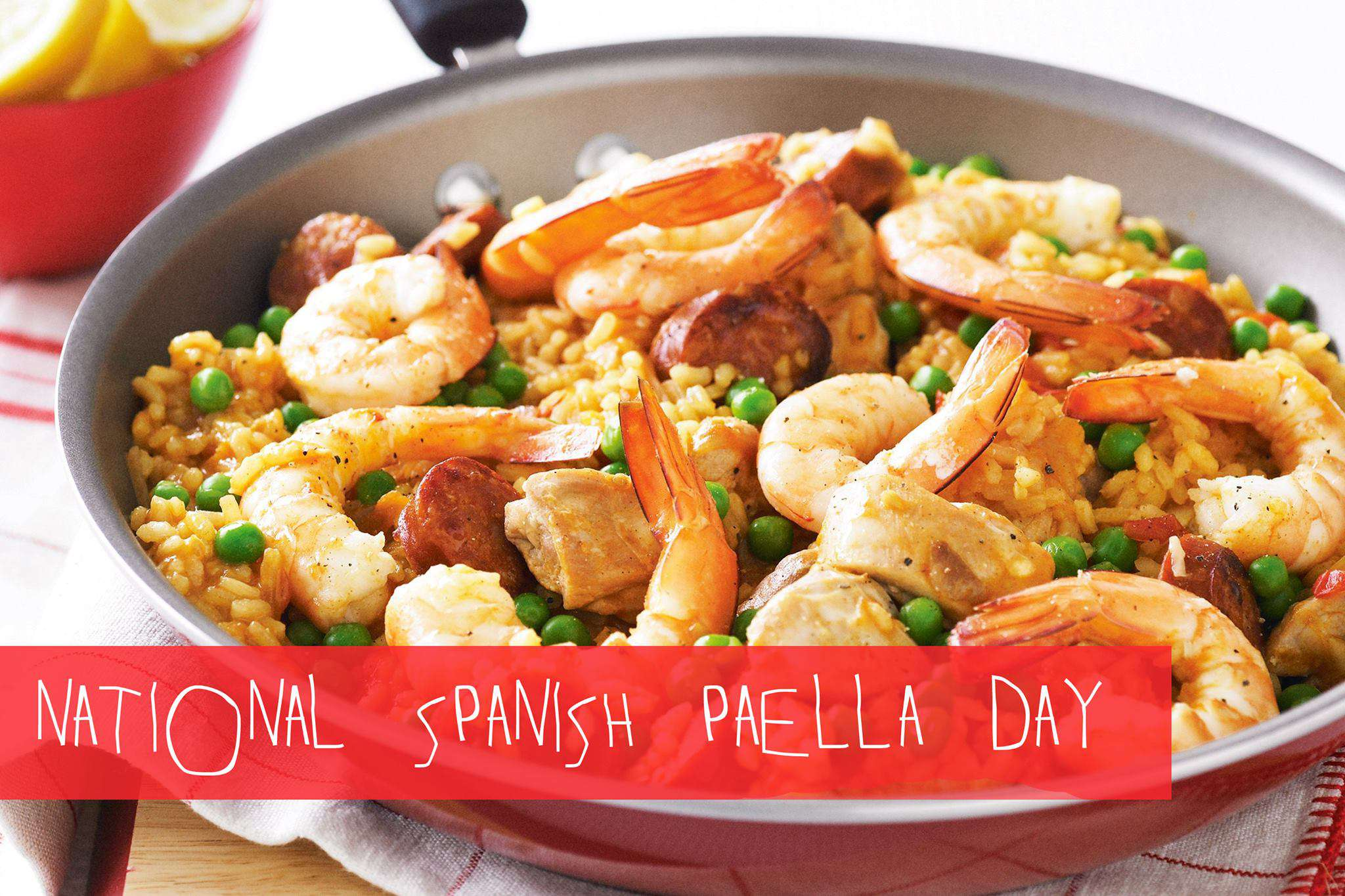 National Spanish Paella Day Wishes Images download