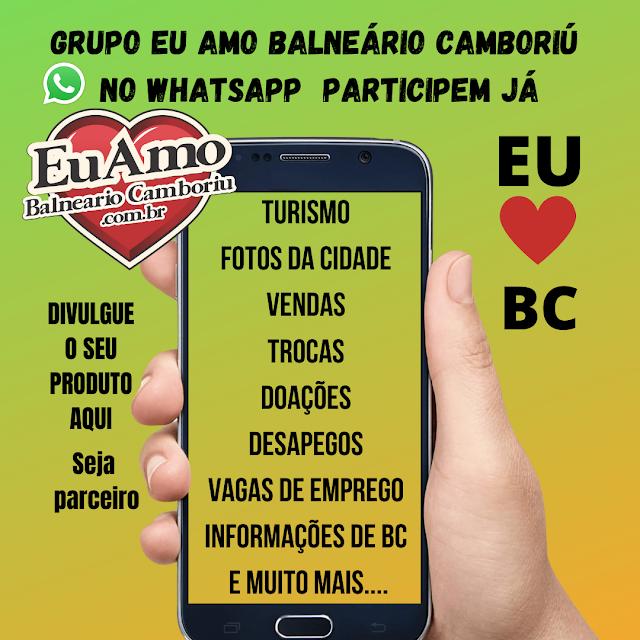 Grupo Eu Amo Balneário Camboriú no whatsapp