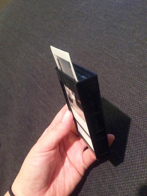 DIY Instax Cartridge Photo Holder   My Name is Sara - mynameissarablog.blogspot.com