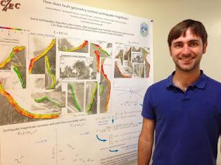 Quentin Bletery, assegnista di ricerca dell'Università dell'Oregon