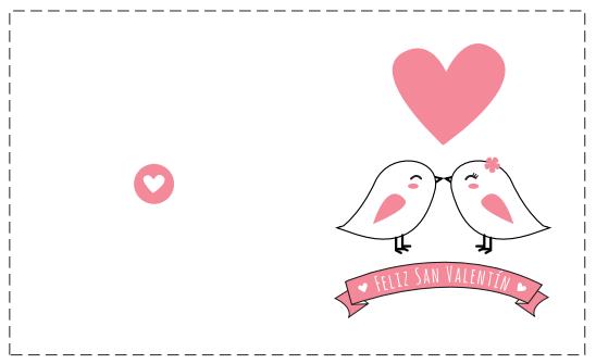 pareja pollitos besándose y corazones