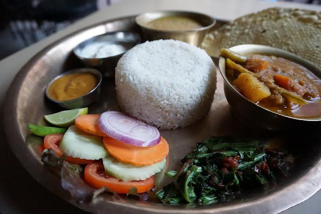 vegan nepalese food