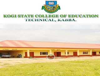Kogi College of Education (Tech), Kabba 2018 NCE I Admission Forms Out
